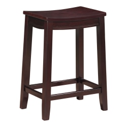 Linon Home Décor Products Maddie Counter Stool, Espresso