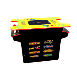 Arcade1Up Deluxe 8-In-1 Pac-Man Head-To-Head Cocktail Arcade Game Table