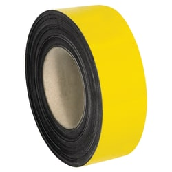 """Office Depot® Brand Magnetic Warehouse Label Roll, LH144, 2"""" x 100', Yellow"""