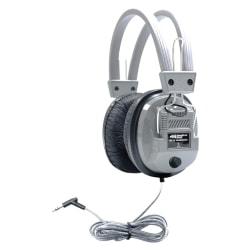 HamiltonBuhl SchoolMate SC-7V Deluxe Headphones, Silver