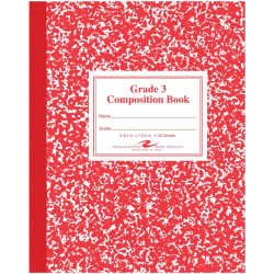 Roaring Spring Grade School Writing Composition Book, Grade 3