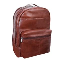 "McKlein S-Series Parker Backpack With 15"" Laptop Pocket, Brown"