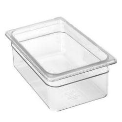 Cambro 1/2 Size Camwear Food Pan, Clear