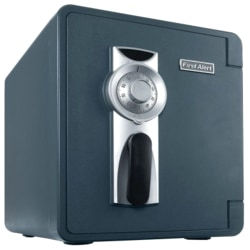 """First Alert 2087F-BD Security Safe - 0.94 ft³ - Combination Lock - 4 Live-locking Bolt(s) - Water Proof, Fire Resistant, Pry Resistant - Internal Size 12.88"""" x 10.38"""" x 12.25"""" - Slate, Gray - Resin"""