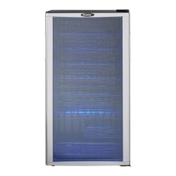 Danby 35-Bottle Wine Cooler, Black/Platinum