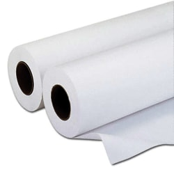 "Alliance® Wide-Format Bond Engineering Paper Rolls, 36"" x 500', 92 Brightness, 20 Lb, White, Pack Of 2 Rolls"