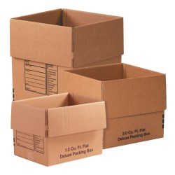 Office Depot® Brand Deluxe Moving Boxes, Combination Pack #1, Kraft, Pack Of 15