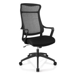 Deals on Realspace Lenzer Mesh High-Back Task Chair