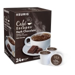 Café Escapes Dark Chocolate Hot Cocoa K-Cup® Pods, Box Of 24 Pods