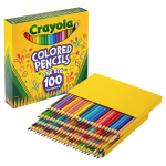 Crayola 100 count Colored Pencils Unique