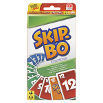Mattel Skip-Bo Card Game - Strategy - 2 to 6 Players - 1 Each