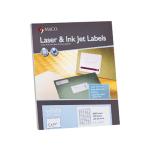 MACO LaserInk Jet White UPC Labels