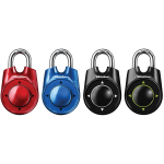 Master Lock® Rollerball Combination Padlock, Assorted Colors (No Color Choice)
