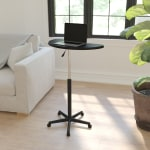 Flash Furniture Height Adjustable Mobile Contemporary