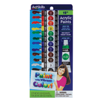 Artskills Acrylic Paints 032 Oz Assorted
