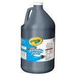 Crayola Washable Paint Black Gallon