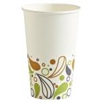 Boardwalk Deerfield Printed Paper Hot Cups