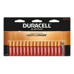 Duracell® Quantum AAA Alkaline Batteries, Pack Of 16