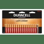 Duracell® Quantum AAA Alkaline Batteries, Pack Of 16