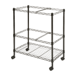 Lorell Mobile Wire File Cart 2