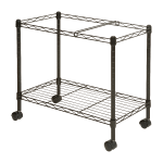 Lorell Mobile Wire File Cart 12