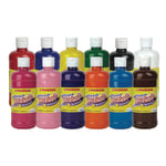 Scholastic Tempera Paint Set 16 Oz