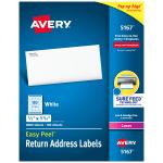 Avery Easy Peel Return Address Labels