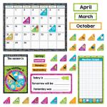 Trend Color Harmony Calendar Bulletin Board