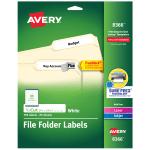 Avery TrueBlock Permanent File Folder Labels