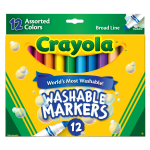 Crayola Washable Markers Broad Line Assorted