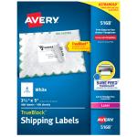 Avery TrueBlock White Laser Shipping Labels