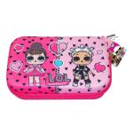 """L.O.L. Surprise! Molded Pencil Case, 8"""", Pink"""