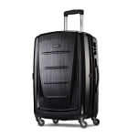 "Samsonite® Winfield 2 Polycarbonate Rolling Spinner, 24""H x 16 1/2""W x 11""D, Brushed Anthracite"