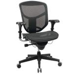 WorkPro Quantum 9000 Mesh Series Mid-Back Desk Chair (Black)