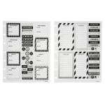 TUL® Discbound Organization Stickers, Assorted Designs