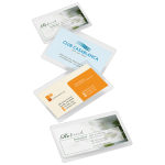 "Office Depot® Brand Laminating Pouches, Business Card Size, 5 Mil, 2.56"" x 3.75"", Pack Of 25"