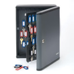 STEELMASTER 90 Key Security Cabinet Charcoal