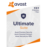 Avast Ultimate Suite 2020, For PC/Mac®, Disc