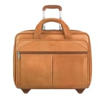 Solo Walker Leather Rolling Case for