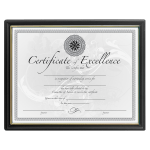 Certificate and Document Covers