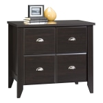 "Sauder® Shoal Creek 34-3/4""W Lateral 1-Drawer File Cabinet, Jamocha Wood"