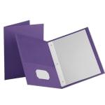 Oxford Twin Pocket Portfolio With Fasteners