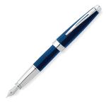 Cross® Aventura Fountain Pen, Medium point, 1.0 mm, Assorted Barrels, Black Ink