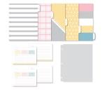 "Office Depot® Recipe Organizer Kit, Letter Size (8-1/2"" x 11""), Multicolor"