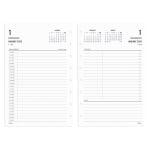 TUL® Discbound Daily Refill Pages, Junior Size, January to December 2020