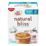 Coffee mate Natural Bliss Creamer Singles
