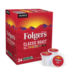 Deals on 24-Pack Folgers Single-Serve Coffee K-Cup Classic Roast