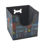 "Advantus Collapsible Pet Toy Bin, 12"" x 12"" x 12"", Multicolor"