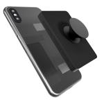 Eggtronic Power Bank, With Phone Pop Grip, Black, PPBK2