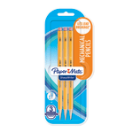 Paper Mate® SharpWriter Mechanical Pencils, 0.7 mm, #2 Lead, Yellow Barrel, Pack Of 3 Pencils